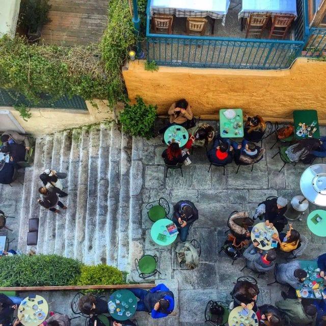 cultura de cafe griega