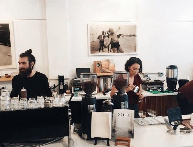 baristas en 5 senses coffee