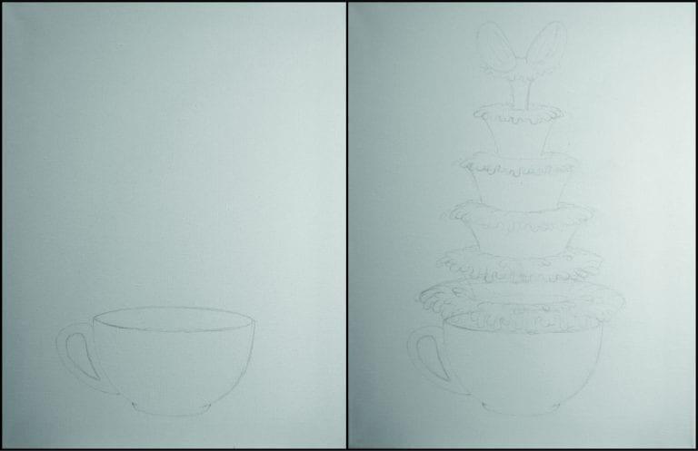 Boceto de taza de café