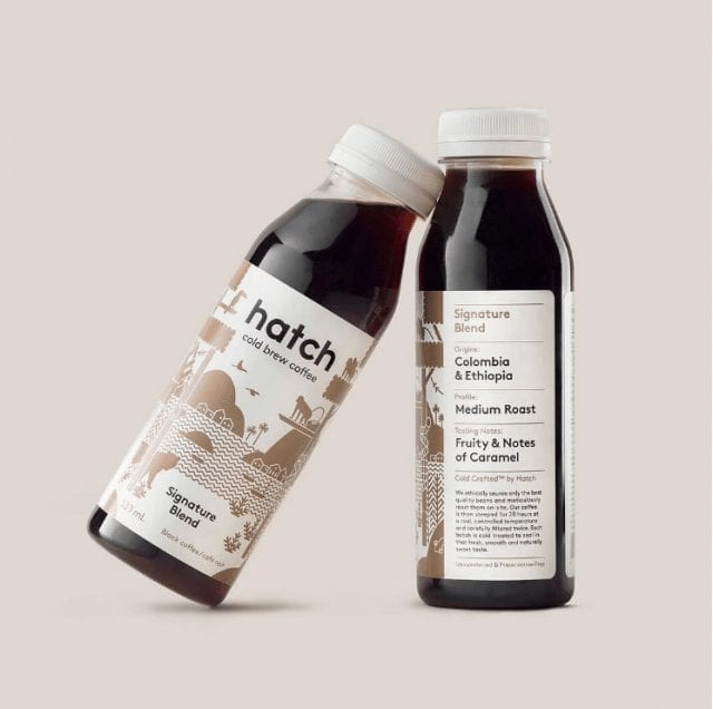 Botellas de cold brew