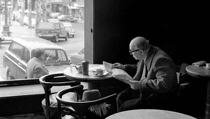 Cafe y noticias