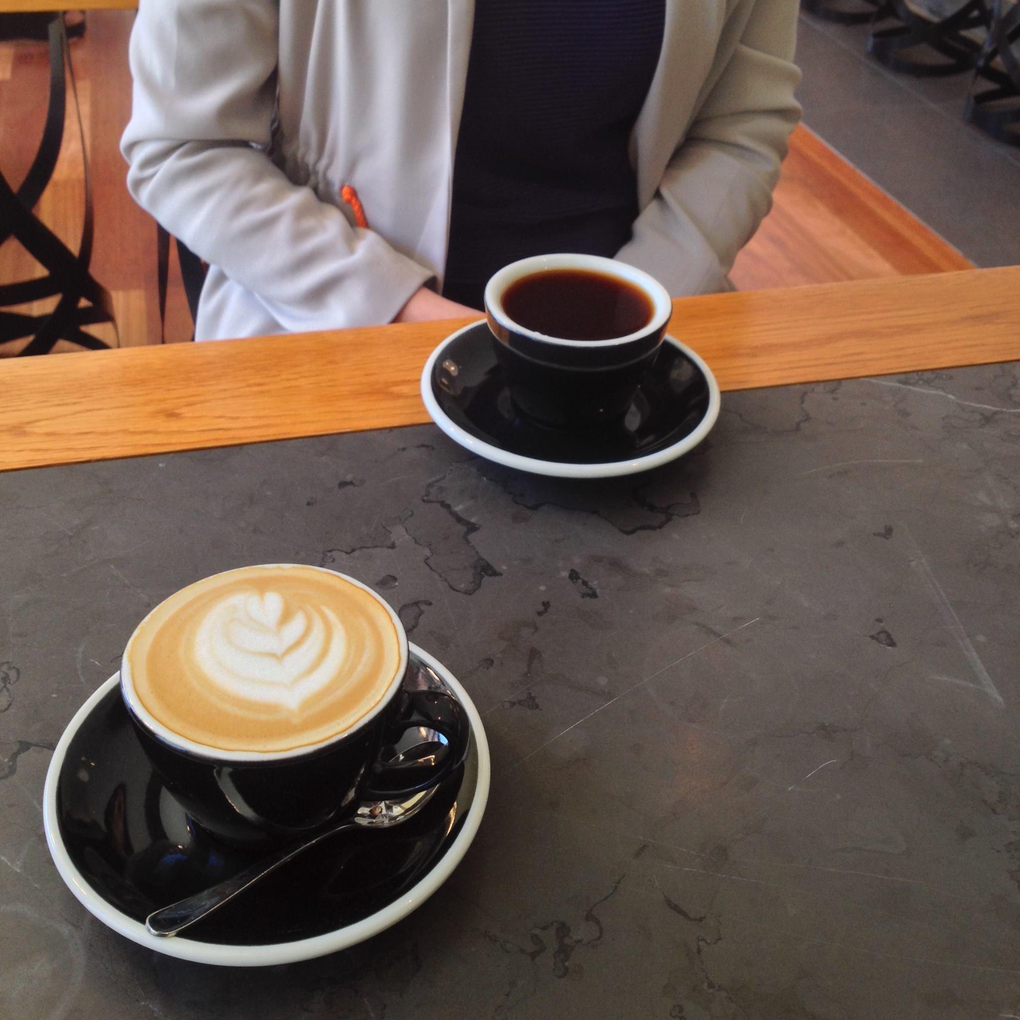 cita en un cafe