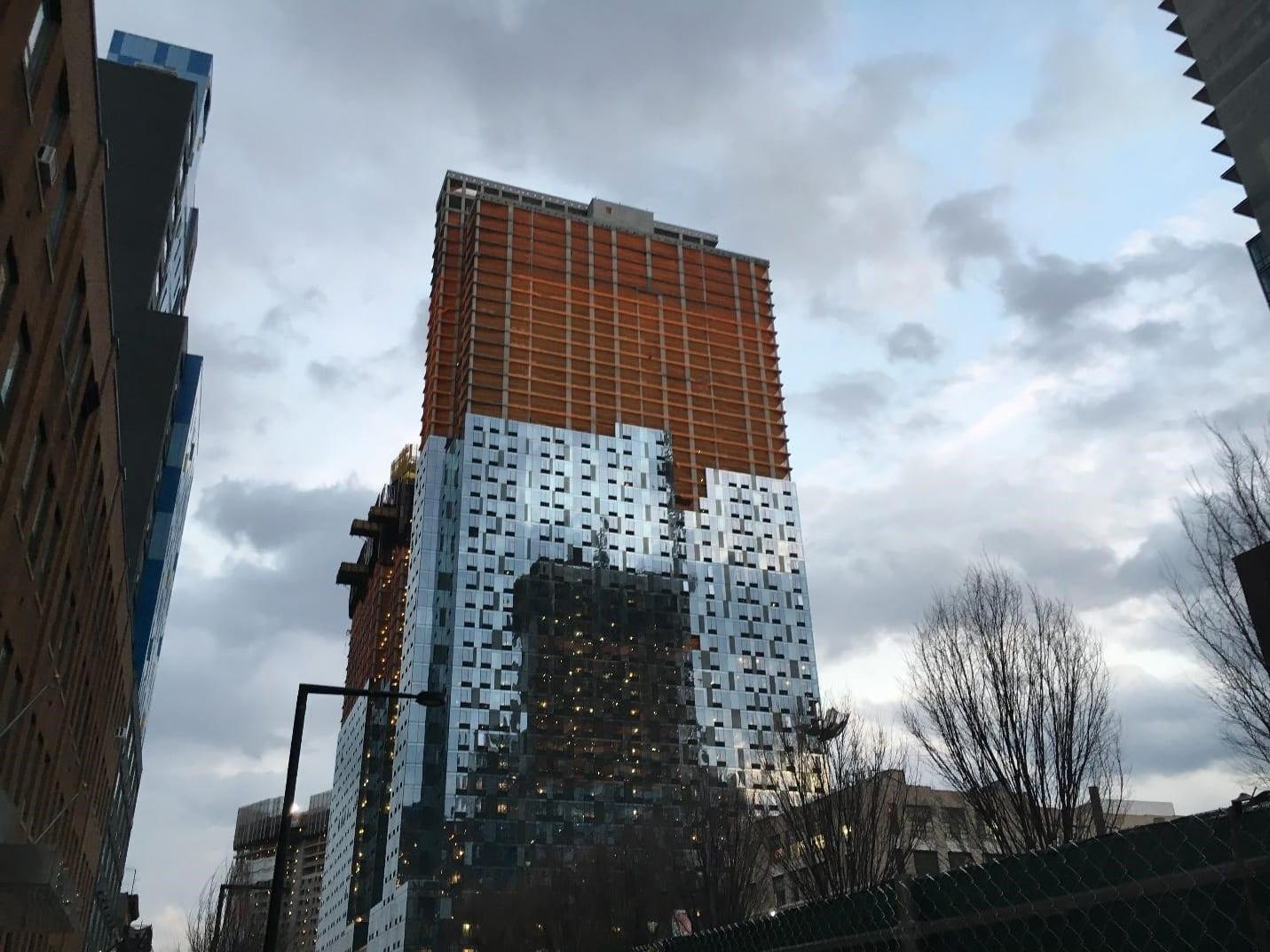 Construction in New York Rachel Northrop