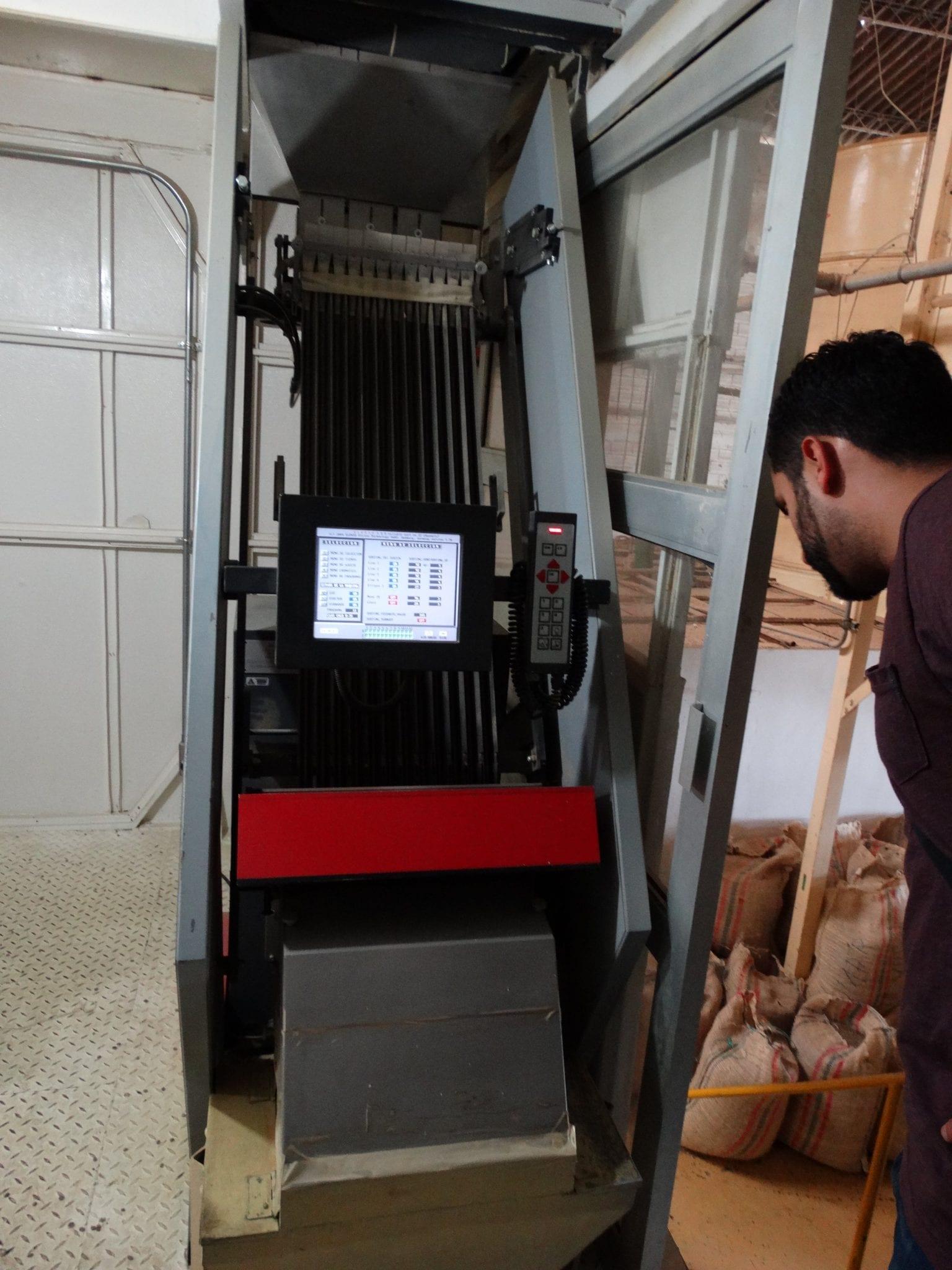 Coffee sorting machine
