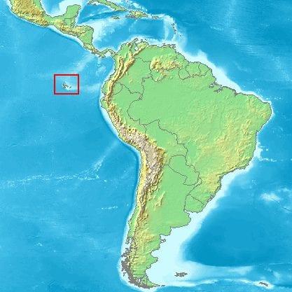 Mapa de Galápagos