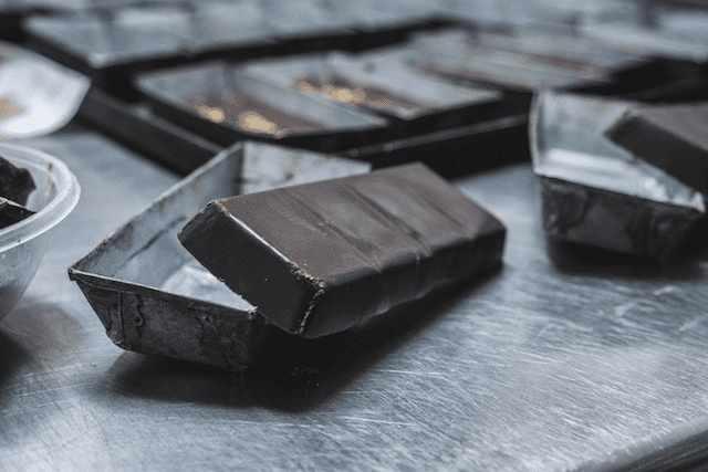 Moldes de barras de chocolate