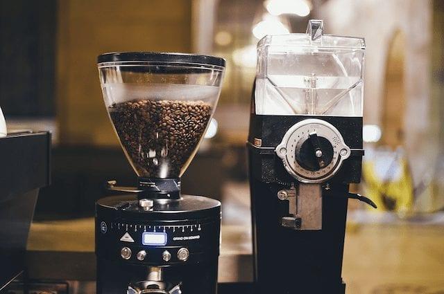 Molinos de café con diferentes configuraciones