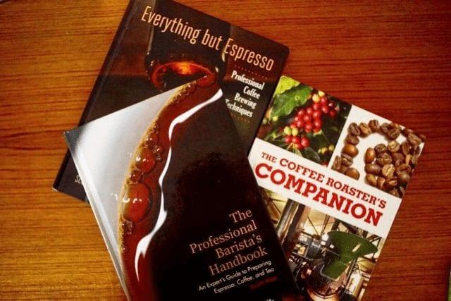 Tres libros de café para esta navidad