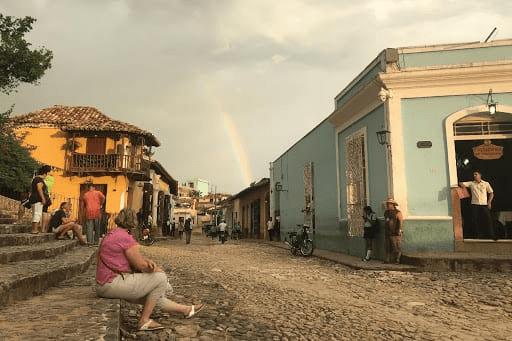 la ciudad de trinidad Cuba
