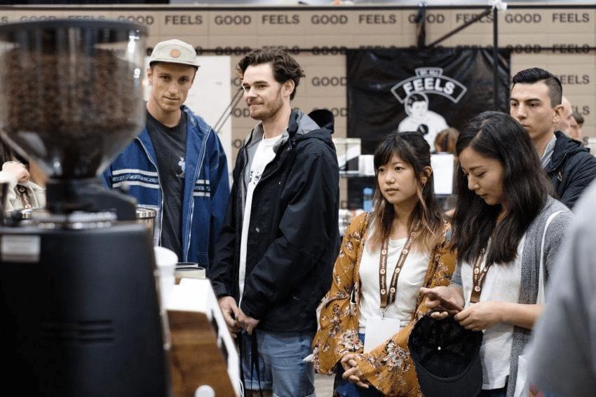 asistente del Mice observan tendencias en cafe