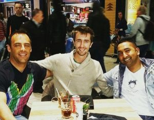 tres campeones sudafricanos del cafe