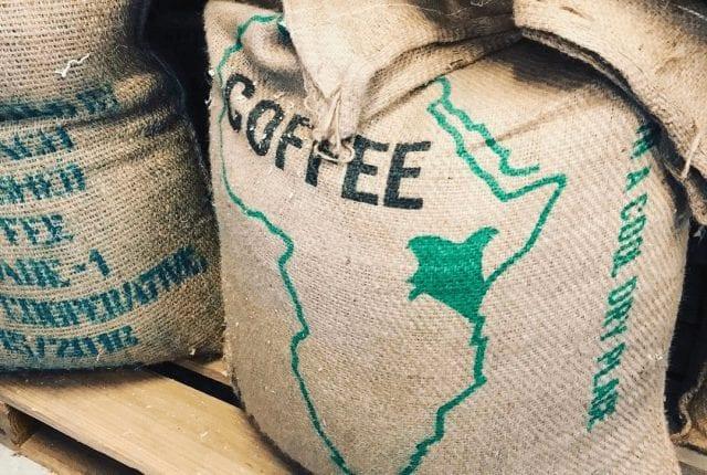 saco de cafe de kenia