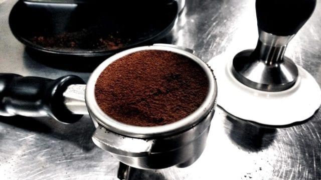 cafe molido listo para ser extraido