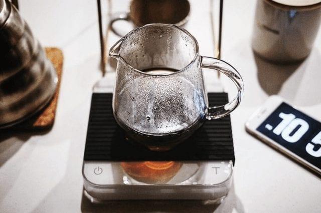 cafe recien hecho