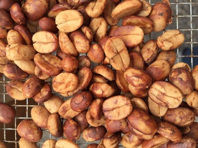 cafe seco en pergamino despues de fermentar
