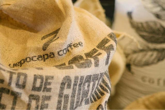 sacos de cafe verde