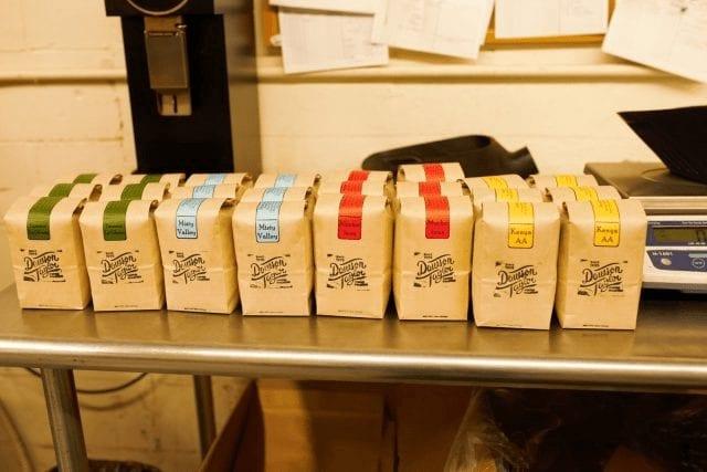 Cafés diversos con varios perfiles