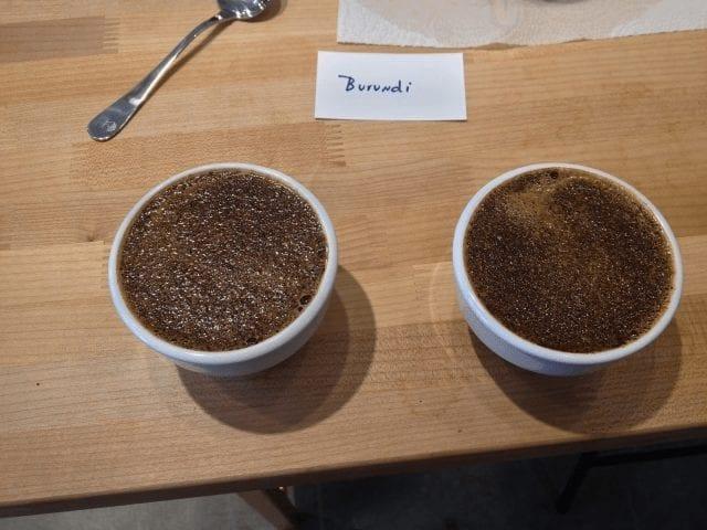 catacion de cafe de burundi