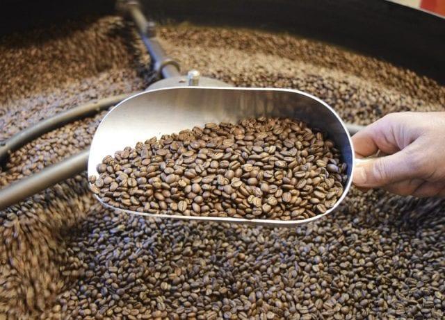 cafe en tostadora