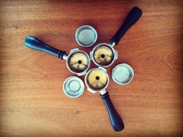 canasta de espresso