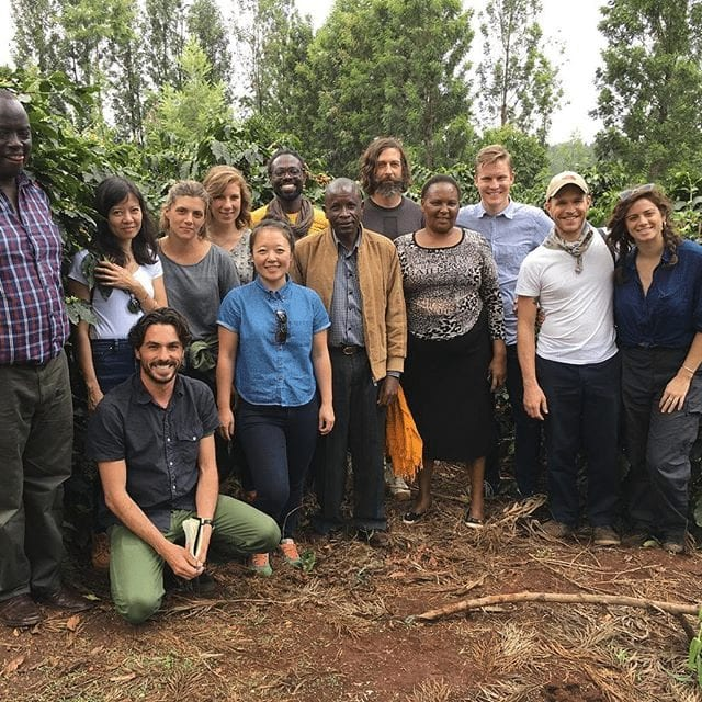 collaborative coffee source en kenia