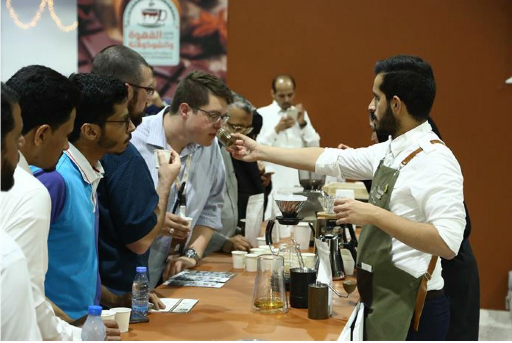 persiviendo el olor del cafe de especialidad