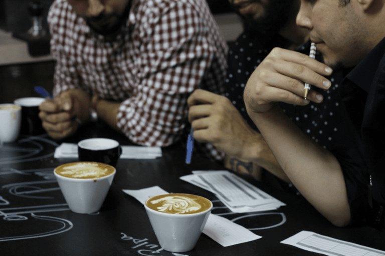dos cappuccinos