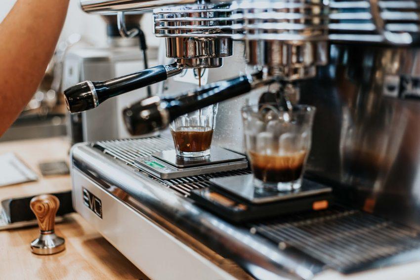 dos shots de espresso