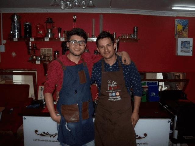 entrenadores baristas
