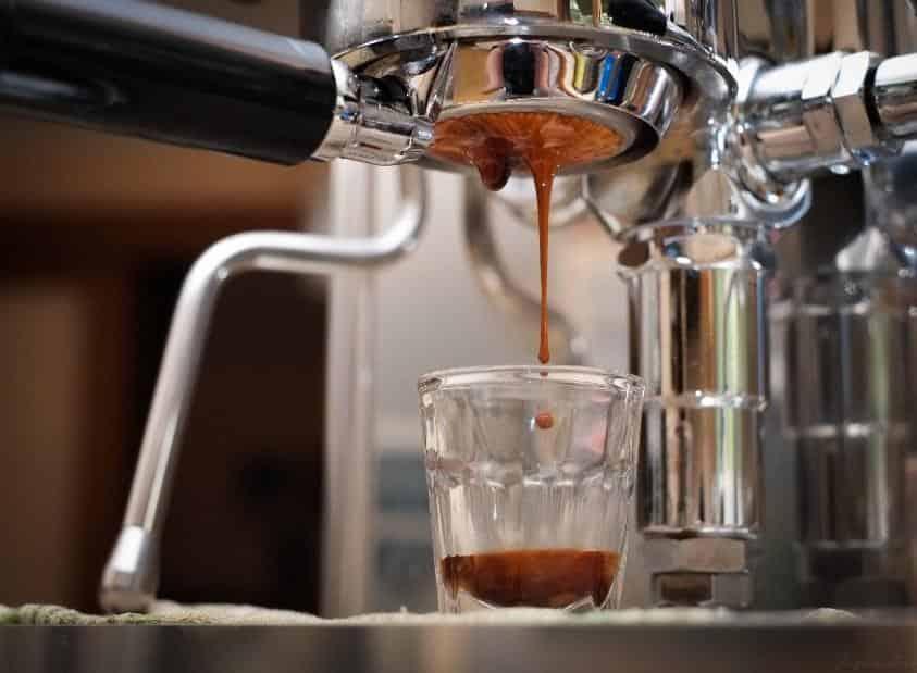 extraccion de espresso