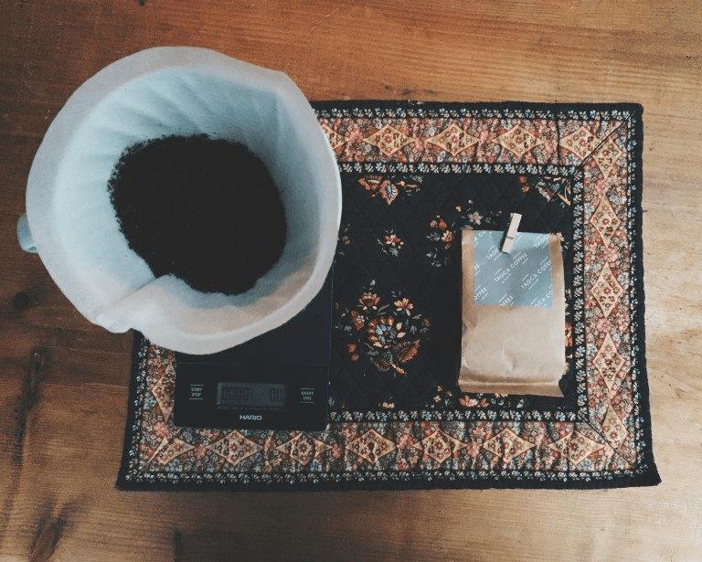 filtro y cafe