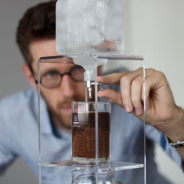 Cold drip tower