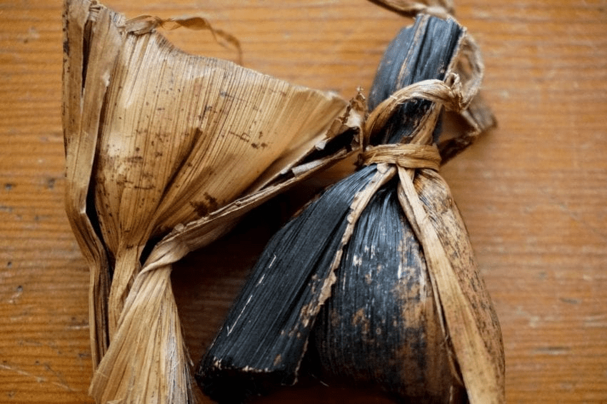 hojas secas de cafe utilizadas como paquetes