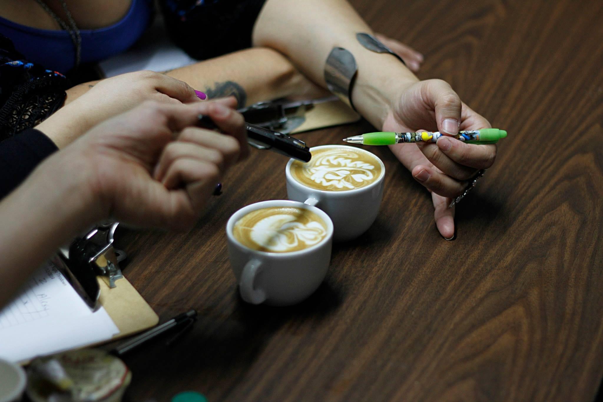 extraccion de cafe