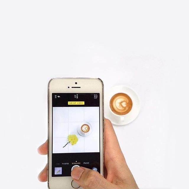 foto de cafe en instagram