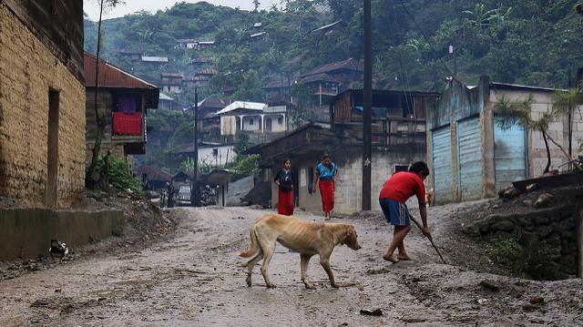 Street Ixil Guatemala