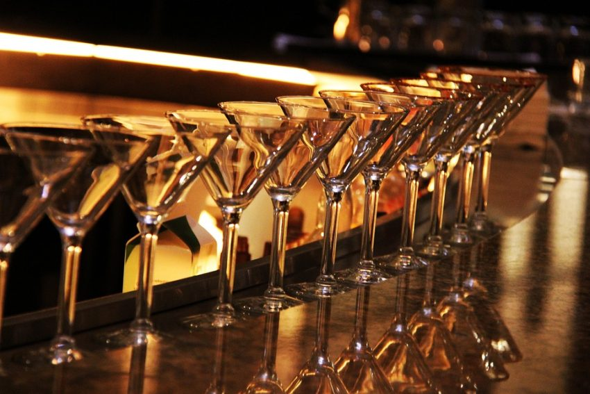vaso de martini