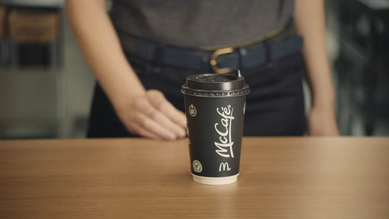 McCafé cup