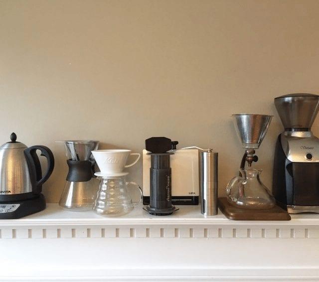 metodos para preparar cafe