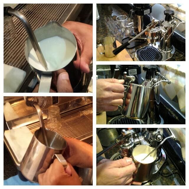 verter para latte art