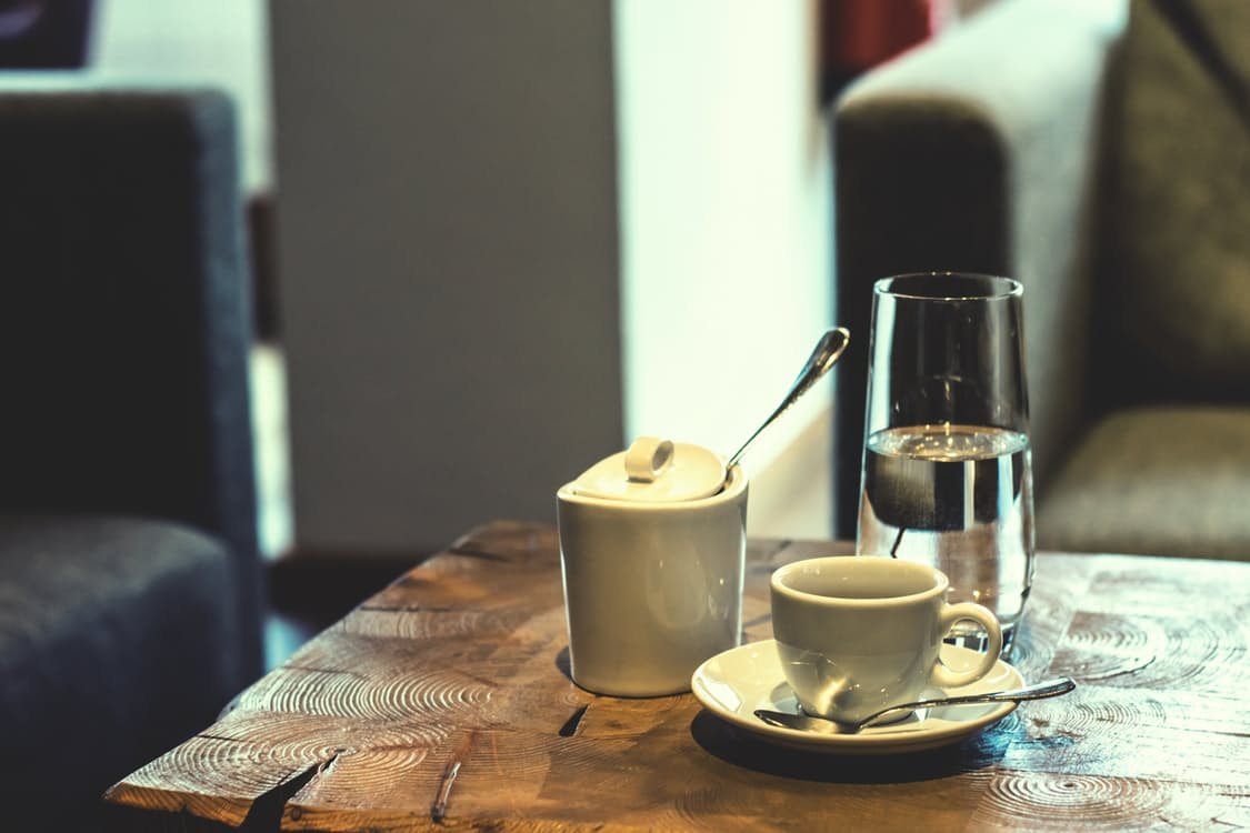 sugar and coffee
