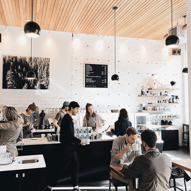 servicio de barra de cafe