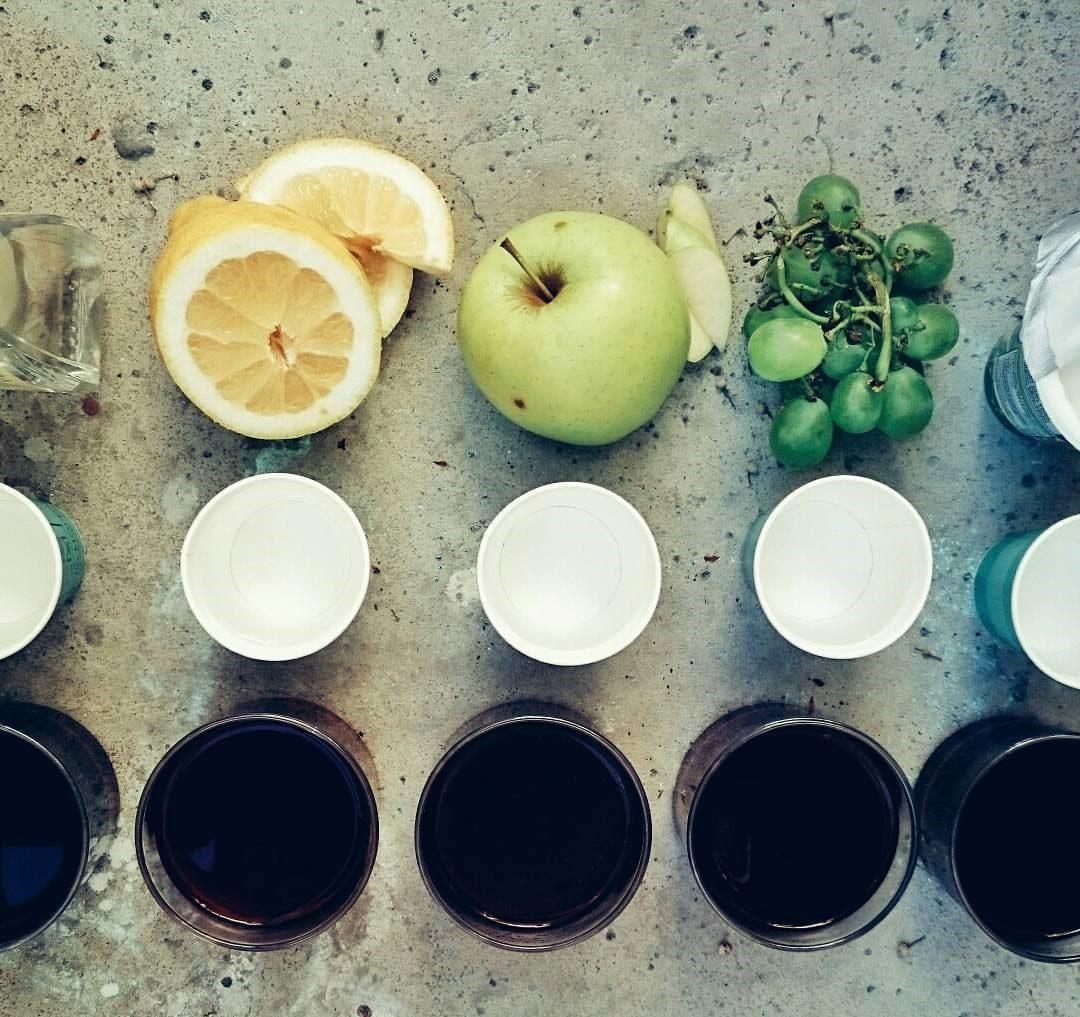 sesión sensorial de cafe