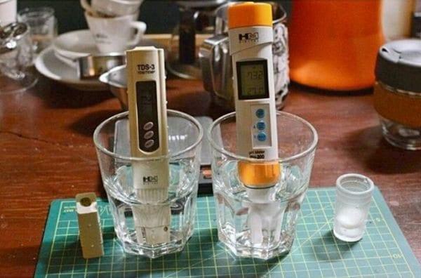 agua para cafe