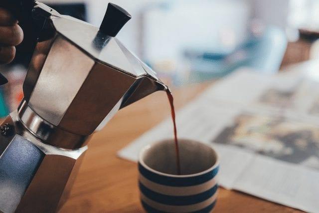 cafe en moka pot