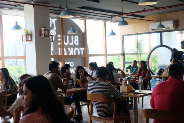 cafeteria ocupada