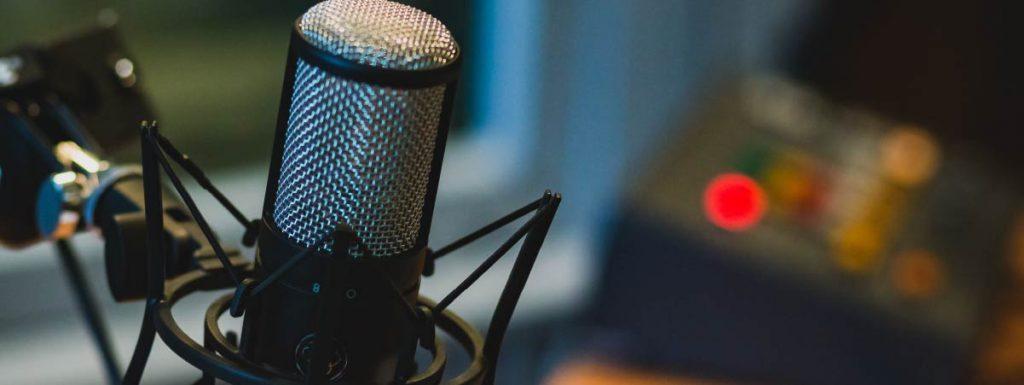 Microfono para podcast