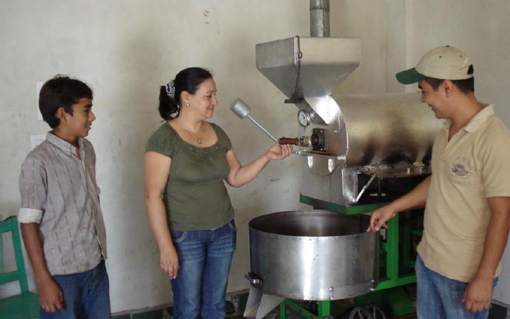 Cadena de suministro del café
