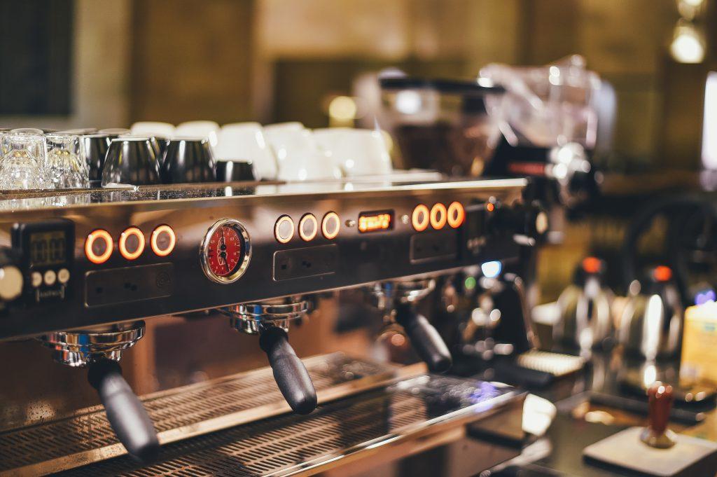 Máquina de espresso La Marzocco.