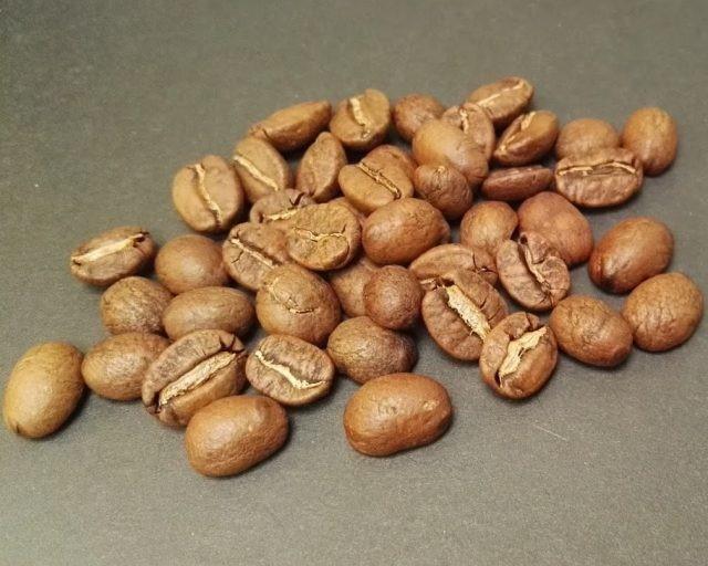 grão de café torrado